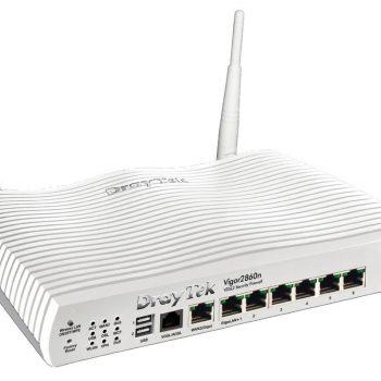 DrayTek Vigor 2860n Triple-WAN VDSL/ADSL2+ Broadband Router