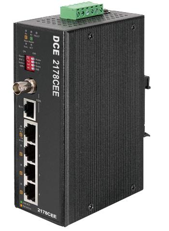 DCE 2178CEE Long Reach Ethernet Extender +POE-0