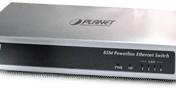 PL-420 85M Powerline to Ethernet Bridge with 4-Port Switch