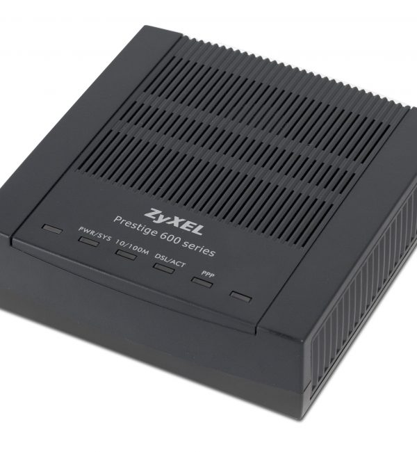 ZyXEL Prestige 660R-F1 ADSL2+ Compact Modem/Router – Box of 10-0