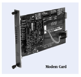 DATA CONNECT MDMC Myriad Modem Carrier Card with face plate (without modem) AC/DC POWERED SUBSTATION HARDENED
