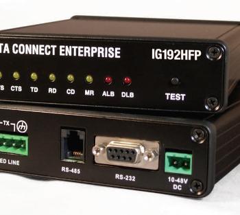 DATA CONNECT IG192HFP Hyper Fast Poll Modem 100-240 VAC or 10-48VDC