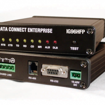 DATA CONNECT IG96HFP Hyper Fast Poll Modem 100-240 VAC or 10-48 VDC