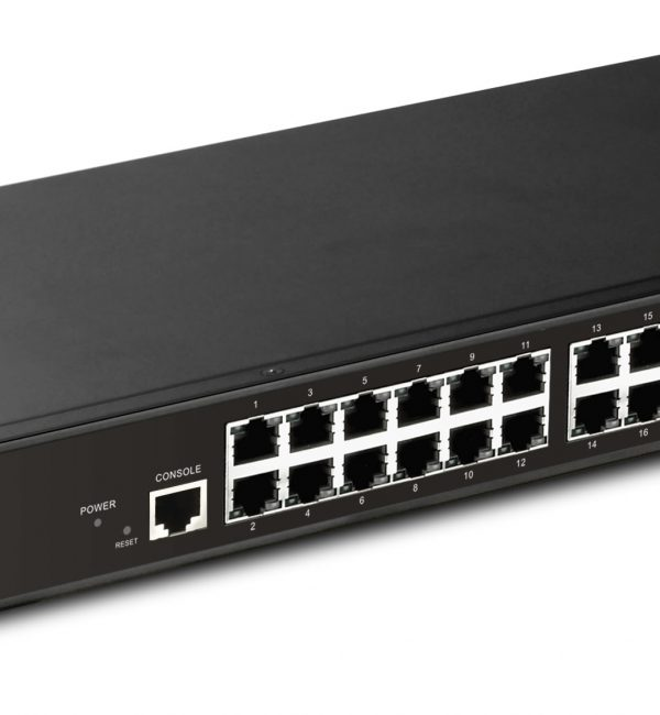 Draytek VigorSwitch P2261 PoE Gigabit Ethernet Switch-0