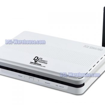 DCE 5204A-NRD ADSL2 ADSL2+ 4-Port Wireless N Modem Router Gateway