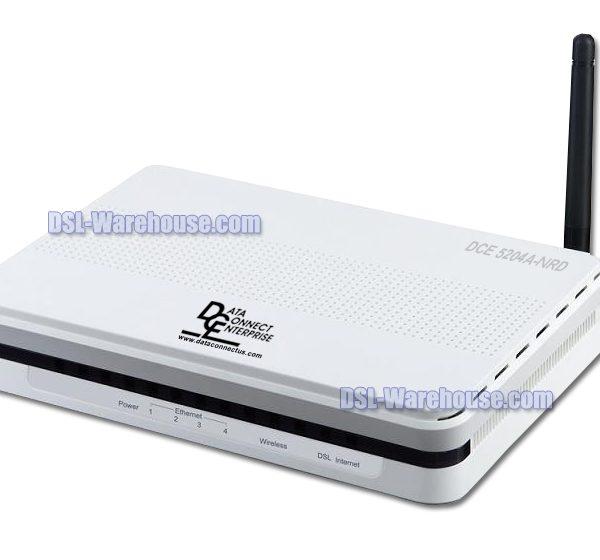 DCE 5204A-NRD ADSL2 ADSL2+ 4-Port Wireless N Modem Router Gateway-0