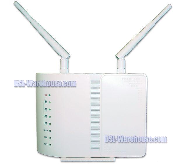 DCE 5204AV-NRD/K  4-Port ADSL2+ / VDSL2 Combo Wireless 802.11n Gateway-0