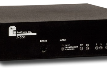 RS232 4 Port Code Operated Switch Relcomm ICOS 9113089
