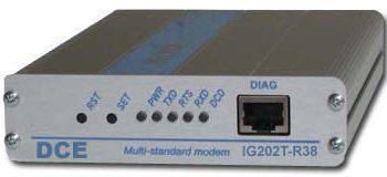 DCE IG202T-R38-DC48 INDUSTRIAL MODEM