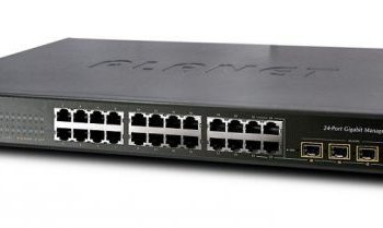 WGSW-24040R  24-Port 10/100/1000Mbps with 4 Shared SFP Managed Switch